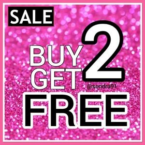 Buy any 2 items, get 2 items FREE Sale